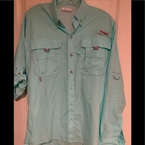 Columbia vented long sleeve shirt